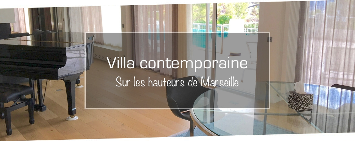 Villa contemporaine à Marseille