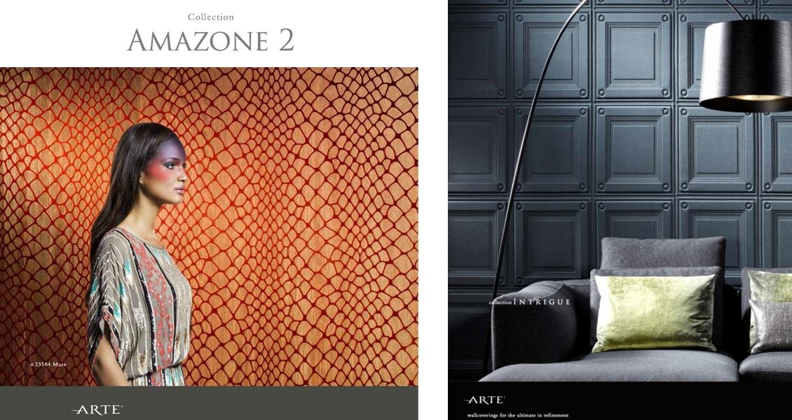 tendances papiers peints et rev tements muraux 2015 16 effets de styles jeux de mati res. Black Bedroom Furniture Sets. Home Design Ideas